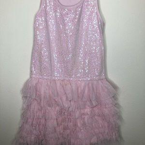 Girls Children's Place Sequin Dress